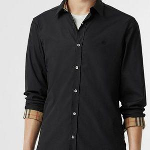 Men's Burberry William ✔ long sleeve Gray Shirt